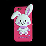 ROCS Silicon 3D Rabbit Case for iPhone 6 / 6S