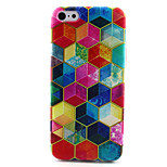 Geometry Pattern TPU Case for iPhone 5C