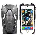 iPhone 5 Case Marvel Ironman Black 3D Hard Cover Case Free with Headfore HD Screen Protector for iPhone 5/5S