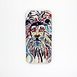 Lion Head Pattern TPU Relief Cover Case for iPhone 6/6S