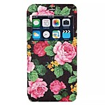 flower pattern TPU+PU Flip window shell Case with Kickstand For iPhone6/6s