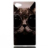 Cat Pattern TPU Phone Case for Xperia Z5 Compact/Z5mini