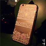 maycari®nice gevoelens transparante TPU achterkant van de behuizing voor de iPhone 6 / iphone 6s