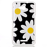 Chrysanthemum Pattern TPU Phone Case for Sony Xperia E4G