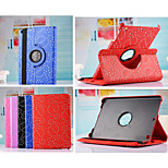 New Arrival Hot Sell Fashion Flower 360 Rotate Pu leather Case Cover Auto Sleep/Wake Up for ipad Air 2(Assorted Color)