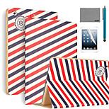 lexy® voyager Muster PU-Leder Flip-Standplatzfall mit Displayschutzfolie und Schreibkopf für ipad mini 4