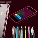 chiamata led lampeggia trasparente posteriore di tpu caso della copertura di iphone 5 / 5s (colori assortiti)