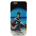 Naked Woman Painting Pattern TPU Soft Case for iPhone 6/6S