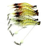 1 pcs Otros Cangrejos / Camarón Colores Aleatorios 6.6 g Onza mm pulgada,Plástico duro Pesca de baitcasting