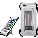 Sport Waterproof Shockproof Aluminum Alloy Back Case for IPHONE 6/ 6S - Silver + Yellow