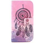 Dreamcatcher Pattern PU Leather Case with Money Holder Card Slot for Wiko Lenny