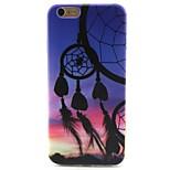 Campanula Pattern TPU Material Phone Case for iPhone 6/6S