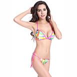 Mini Bottom Removable Padding Fully Lined 2016 Sexy Fashion Bikini Set Swimwear Thong S.M.L.XL DM072