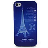 Tower Pattern TPU Case for iphone 4G/4S