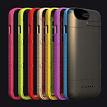 3600mAh External Portable Backup Battery Case for iPhone6(Assorted Colors)