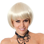 Hot Selling The European And American Short Blonde Straight Hair