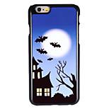 Halloween Style Midnight Castle Pattern Allunium Back Case for iPhone 6