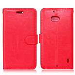 PU Leather + TPU Back Cover Wallet Case Flip Cover Photo Frame Case for Nokia Lumia 930