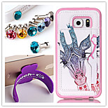PU+TPU Stent Painting Pattern Wallet Mobile phone for Samsung Galaxy S5mini
