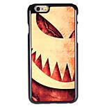 Halloween Style Shocking Pumpkin Pattern Allunium Back Case for iPhone 6