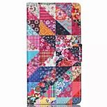 Finger Buckle Painted PU Phone Case for Sony Xperia M4 aqua