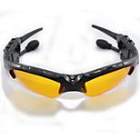 gafas de sol del deporte vendedoras calientes auricular bluetooth para auriculares de gafas de sol