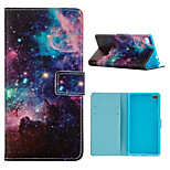 The Starry Sky  Design PU Leather Full Body Case with Stand and Card Slot  for Huawei P8/P8Lite
