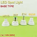 1 pcs  E14 /GU10/E26/E27/MR16 3.6W 24SMD5050 4W 29SMD5050 Warm White / Natural White  Spot Lights 110V/220V