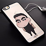 Boy Pattern TPU and PC Material Combo Phone Case for iPhone 6/6S