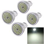 4 Stück YouOKLight Dekorativ Spot Lampen A50 GU10 7 W 600 LM 6000 K 48 SMD 2835 Kühles Weiß AC 100-240 V