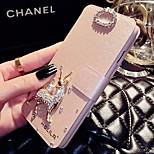 elegante caso lady®luxurious / tapa del teléfono para el iphone 5 / 5s (4,0 pulgadas), decoradas con el caso del teléfono del diamante de