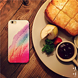 Colorful Sands Pattern High Quality PU Leather and TPU Back Case for iPhone 6/iphone 6S(Assorted Colors)