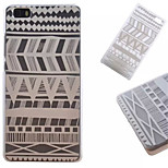 Black And White Lines  Pattern PC Phone Shell For Huawei  P8 Lite
