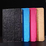 8 Inch Triple Folding Pattern High Quality PU Leather for Lenovo A8-50(Assorted Colors)