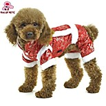 FUN OF PETS® Festival Brocade Traditional Chinese Garments Dogs Jumpsuit for Pets Puppy Dogs