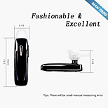Bluetooth Headset English voice prompt MAN FROG® MF-EH101 Black for Apple iPhone 6S Plus Google Android Samsung Huawei