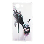 High-heeled Shoes Pattern TPU Material Soft Cover for Sony Xperia Z3 Compact