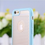 High Quality Breathing Hold Pattern TPU+PC Back Cover for iPhone 6 (Assorted Colors)