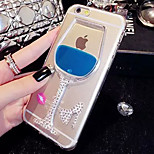 LADY®Elegant/Personality Phone Case/Cover for iphone 6/6s(4.7), Decorated with Diamond and Silicone Meterial