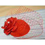 Hat Fascinators Hair Jewelry for Party Wedding