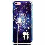 Couple Dandelion Pattern Blu-Ray TPU Material Phone Case for iPhone 6 /6S