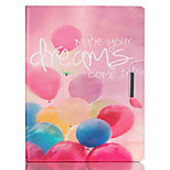 Dream Balloon Pattern PU Leather Full Body Case With Stand for iPad 4/iPad 3/iPad 2