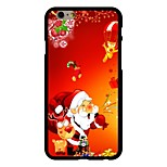 Merry Christmas Pattern PC Hard Case for iPhone 6/6S
