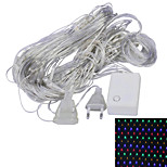 JIAWEN® 1.5x1.5M 4W 96-LED 8-Mode RGB /Whiet /Yellow /Red /Green /Blue Light Ornamental Net Lights (EU Plug , AC 220V)
