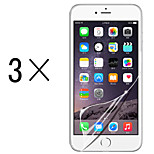 [3-Pack]Professional High Transparency LCD Crystal Clear Screen Protector with Cleaning Cloth for iPhone 6/6S