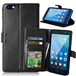Crazy Horse PU Leather Case Cover with Card Slots for Huawei Honor Play 4X