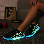 LED LED schoenen usb opladen schedel fluorescentie-emissie mannen en vrouwen mode sneakers
