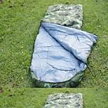 Спальный мешок Прямоугольный Односпальный комплект (Ш 150 x Д 200 см) Хлопок 210cm X 75cm Походы / Пляж  / Путешествия / Охота