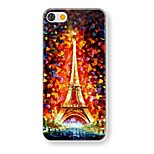 Oil Painting Tower  Pattern PC Hard Case for iPhone 5/5S