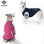 URBAN PAWS  Casual Sports Jacket Large Dogs Hoodie Coat for Big Dogs (Assorted Colors,Sizes)